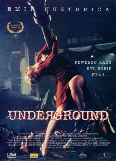 cartel de la pelicula underground