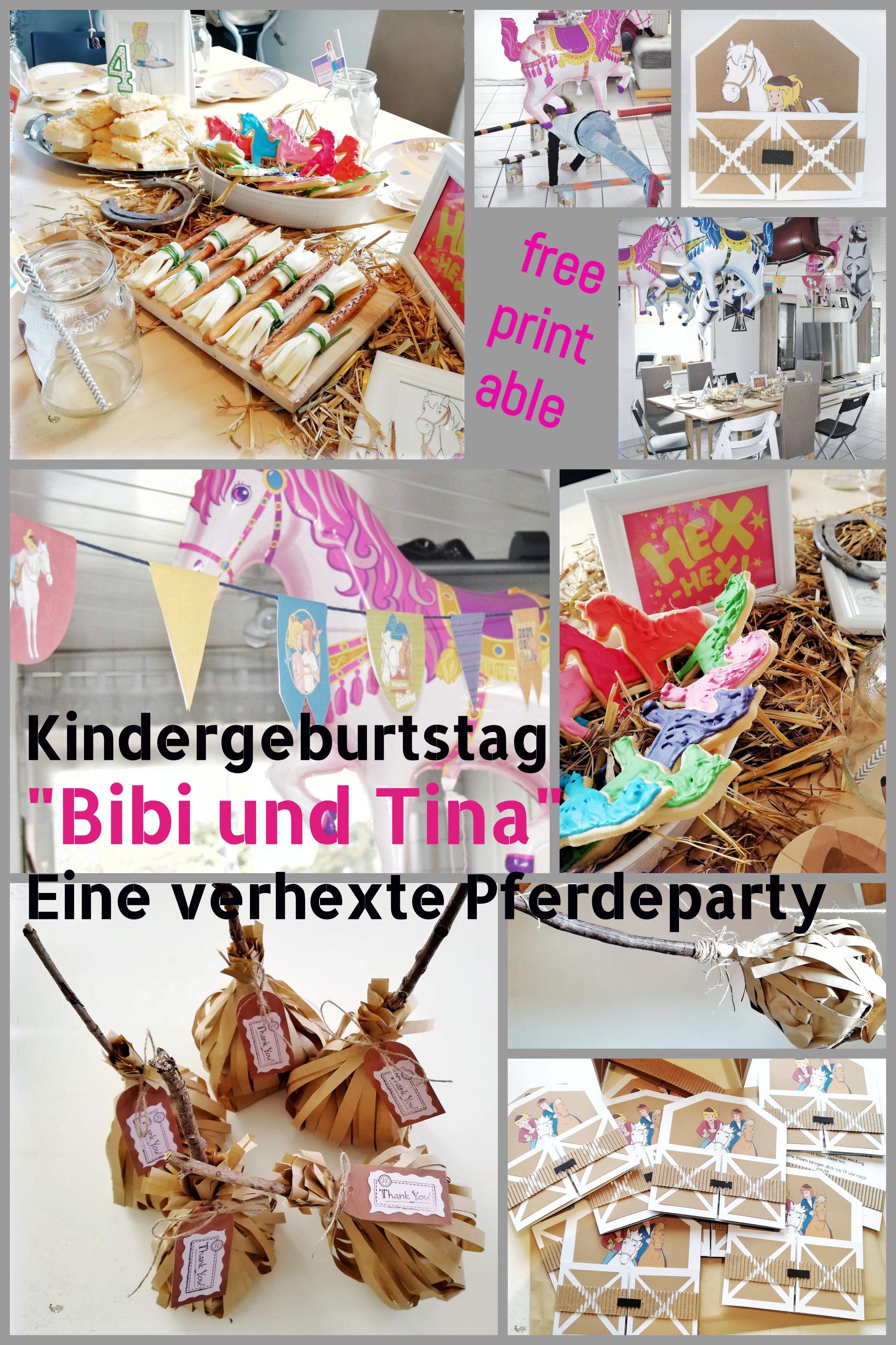 Das war schon die zweite #Pferdeparty, die ich durchgeführt habe, nur diesmal war alles wie verhext. Denn eigentlich war es eine #Bibi und Tina Party, vollgepackt mit Hexsprüchen, die die #Partyspiele auf den Kopf gestellt haben. Für die #Einladung gibt's ein kostenloses #Printable.  #Kindergeburtstag #Mottoparty #Geburtstagsfeier #Bibiundtina #giveaways # mitgebsel #hexenbesen #butterkuchen #tischdeko #hexenparty #partydeko