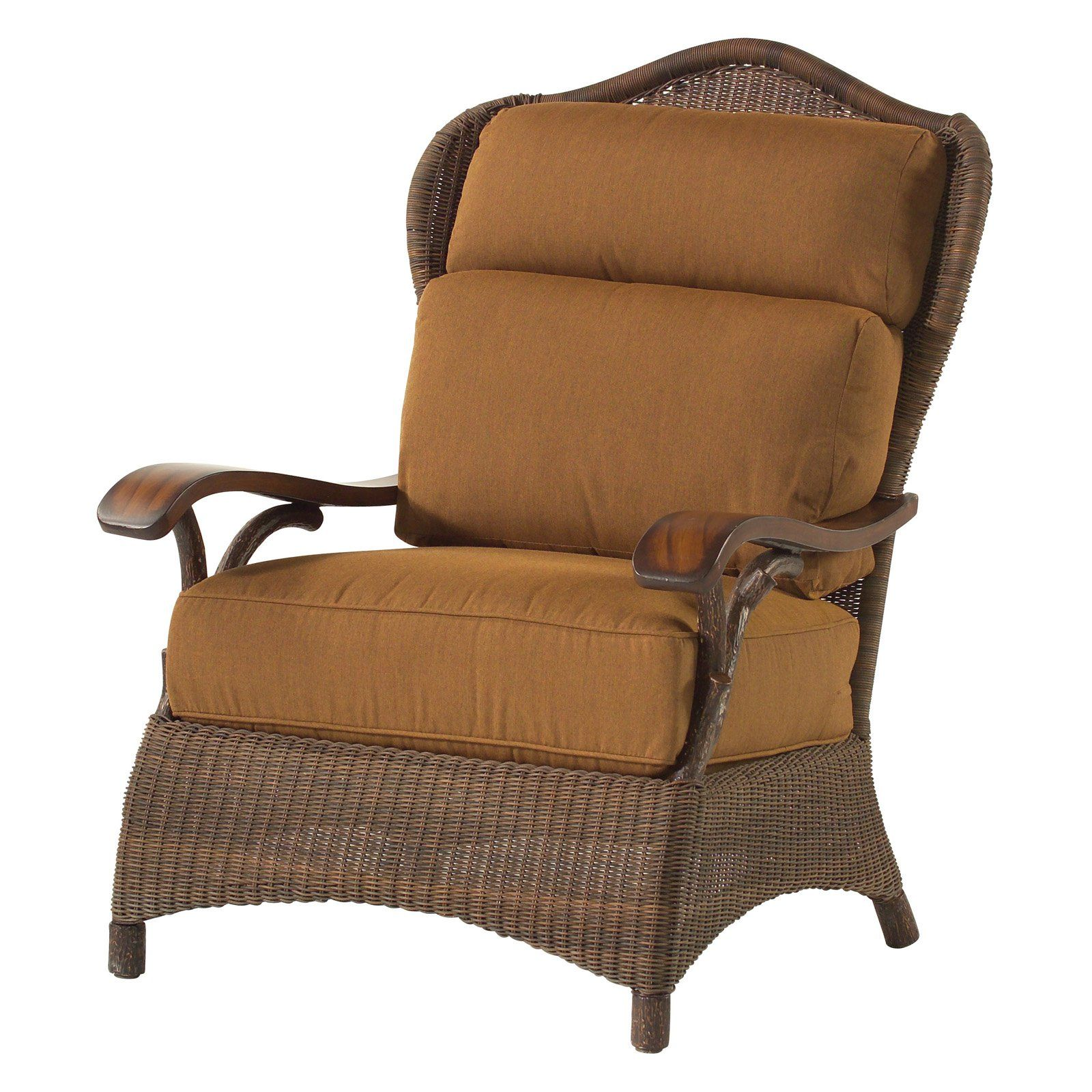 Outdoor Whitecraft by Woodard Chatham Run Lounge Chair ...
