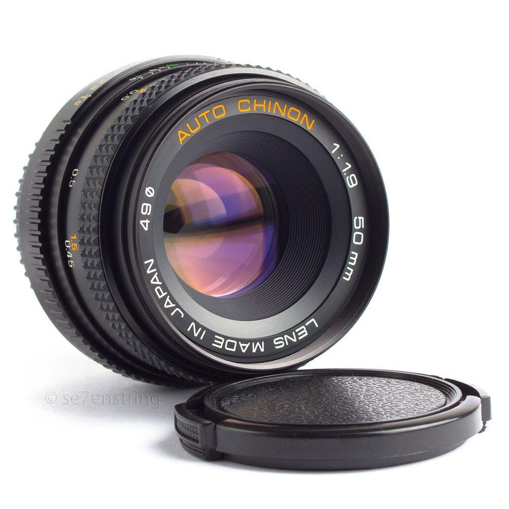 Chinon 50mm f19 lens pentax k pk fit dslr adaptable eos