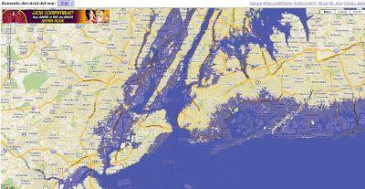 Geoinformación: Mapa de Inundaciones causadas por el Calentamiento Global