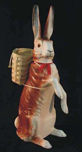 Antique Rabbit Candy Container.