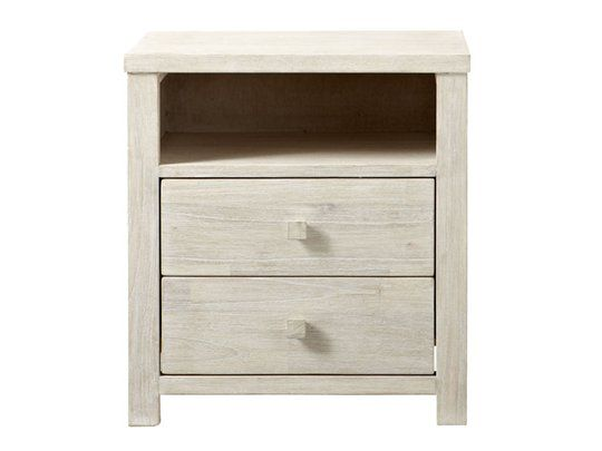 Ocean Grove Bedside Table (2 Drawer) Main Product Image 1
