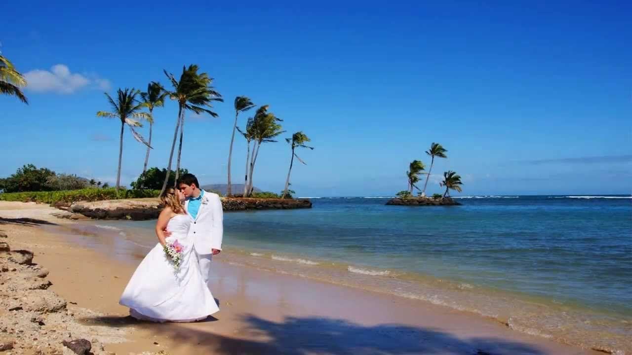 Hawaii Beach Wedding - Hawaii Wedding Photography - Hawaiian Wedding Song  www.beachweddingoahu.com