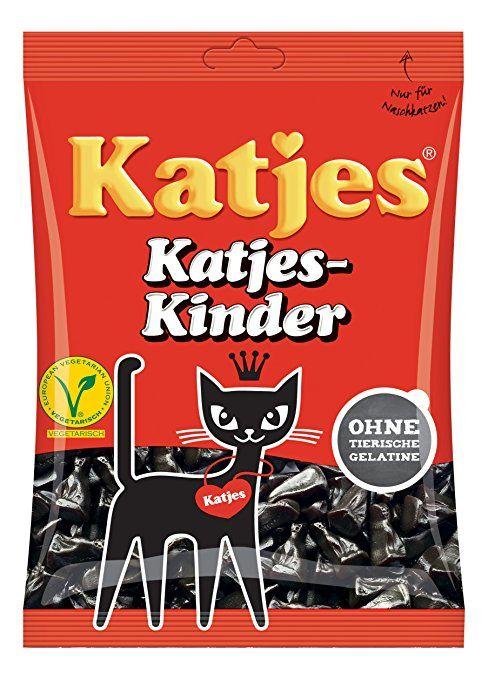 Kinder Licorice Cat Shaped Drops 200g Licorice Pieces By Katjes Licorice Licorice Candy Licorice Root