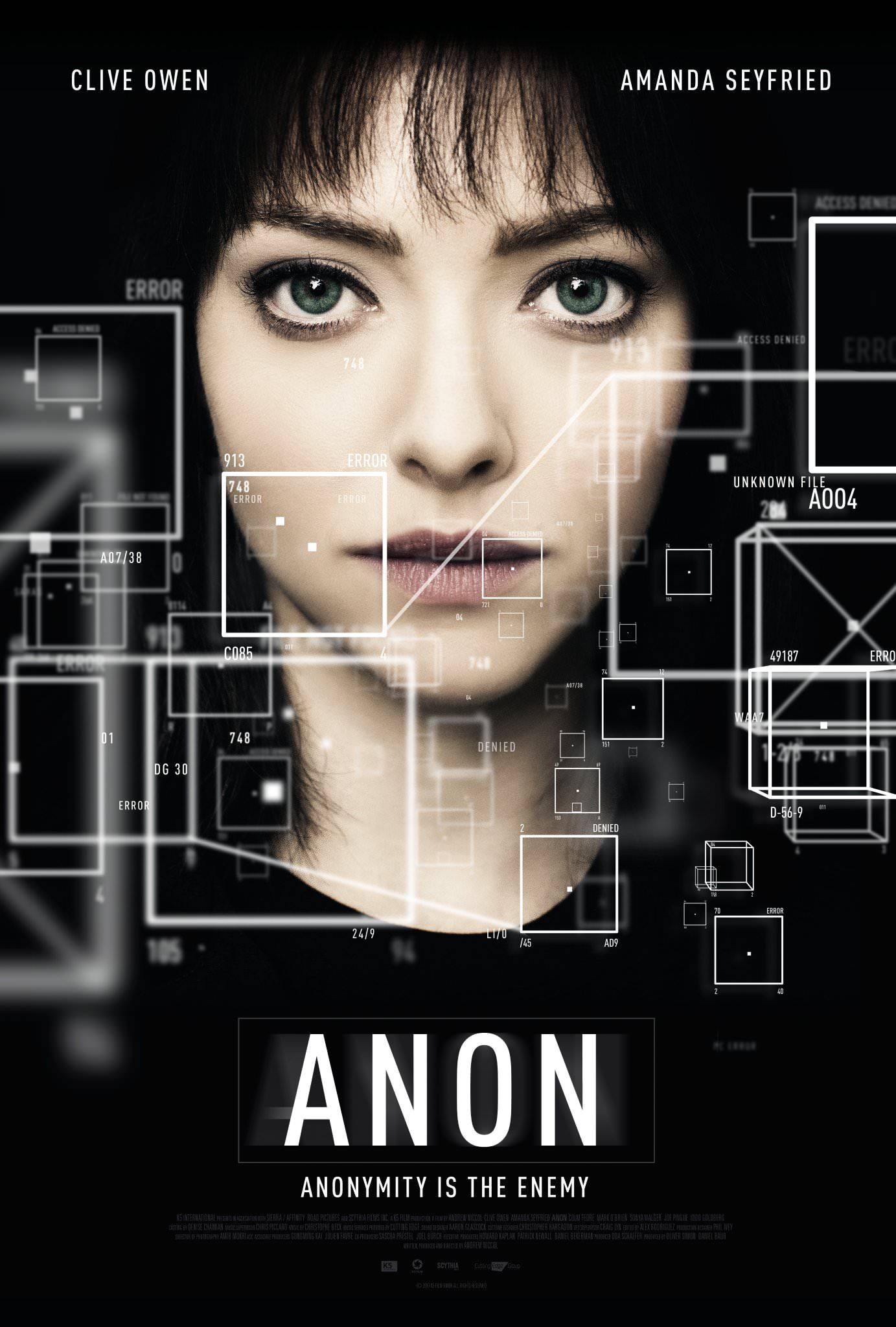 Watch Anon Full-Movie Streaming