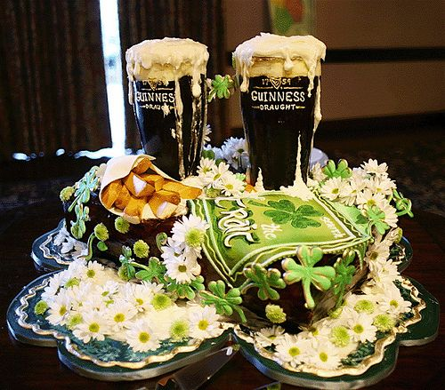 St. Patrick's Day Themed Wedding