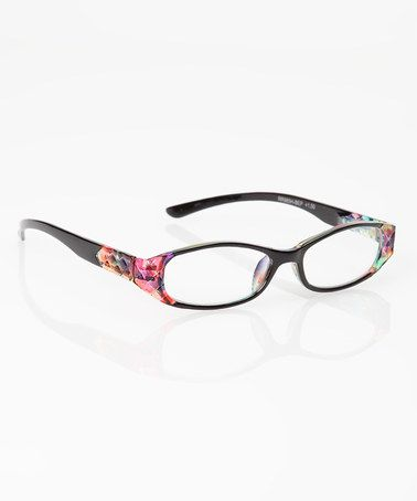 Take a look at this Color Dots Reader Glasses & Case by Glance Eyewear on #zulily today!