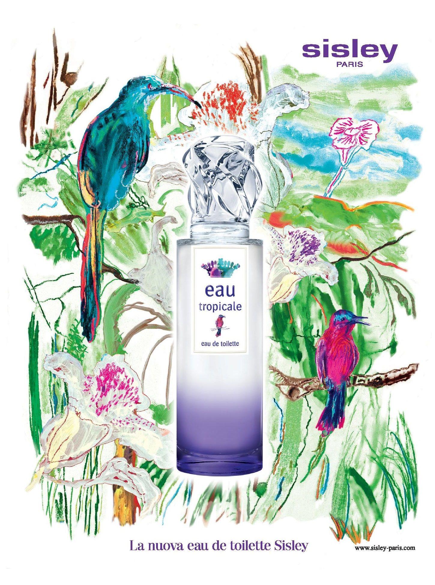 Sisley Eau Tropicale | Eau de toilette, Bouteille de parfum, Tropical