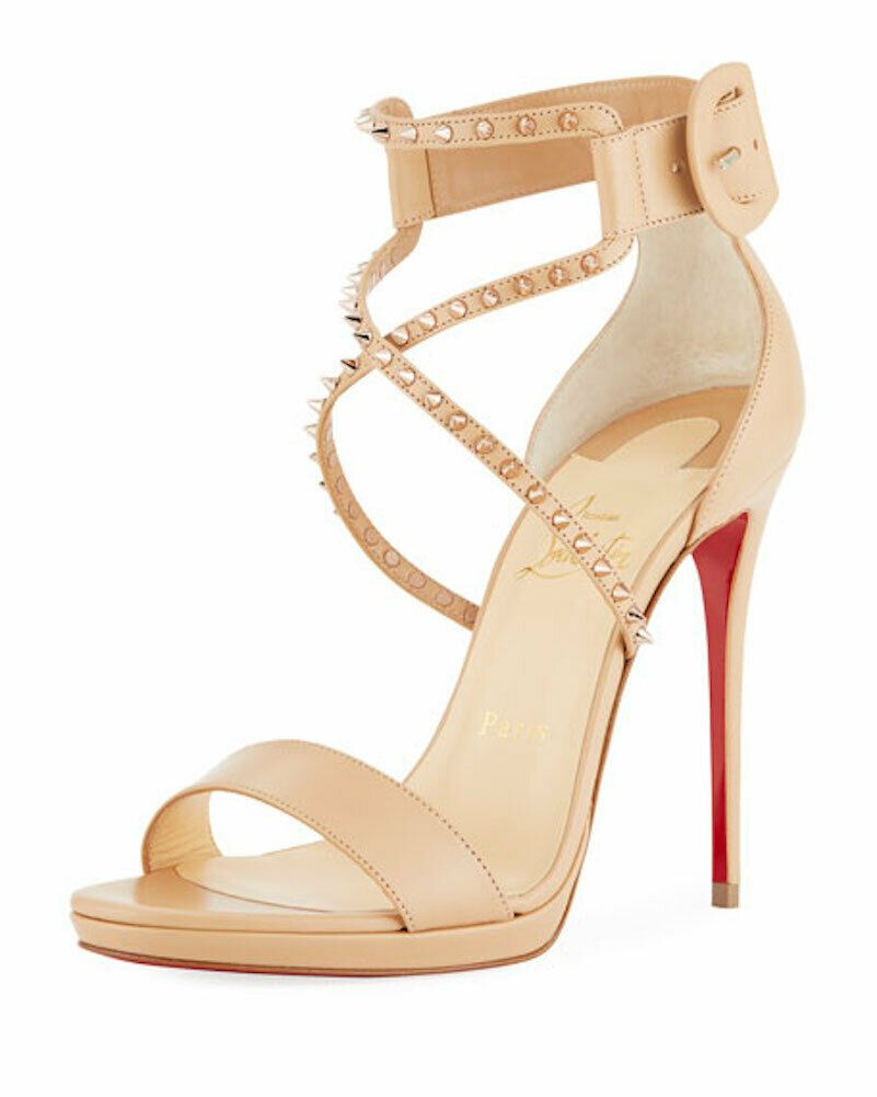 Christian Louboutin Choca sandals   Fashion heels, Manolo