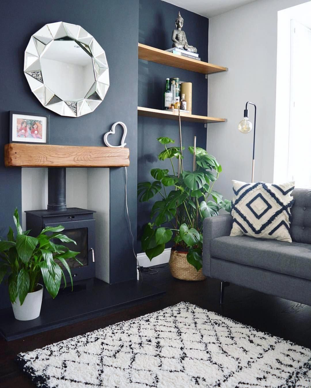 Ways To Get Farmhouse Style In Your House In My View Farmhouse Style Doesn T Intend You Living Room Decor Fireplace Living Room Decor Colors Blue Living Room View home living room color ideas