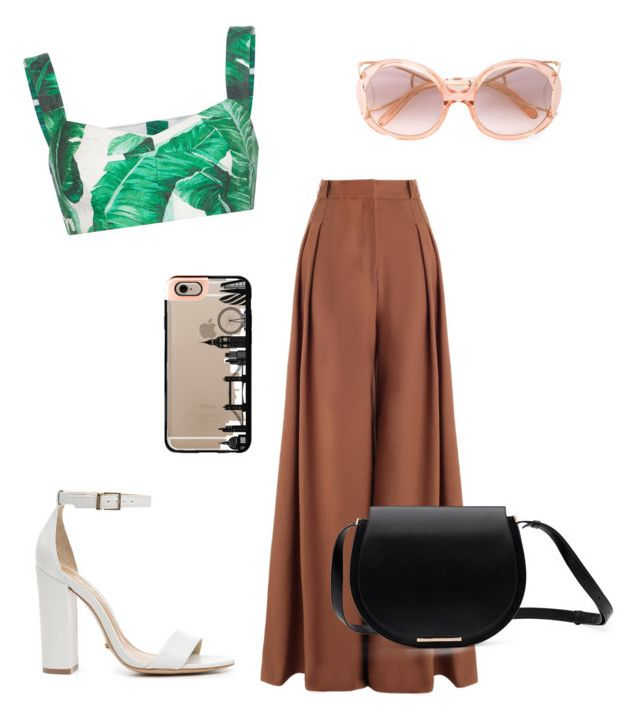 """Sem título #199"" by julianaoliveira18 on Polyvore featuring moda, Zimmermann, Dolce&Gabbana, Schutz, Chloé e Casetify"