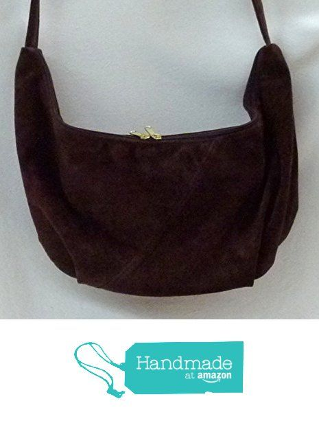 cb4b2fd0a357 Hobo Sling Shoulder Bag dark brown suede leather from Grizzly Creek ...