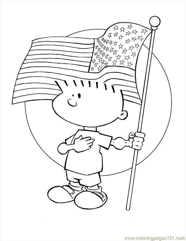 Charlie Brown Pledge Pledge Allegiance Charliebrown