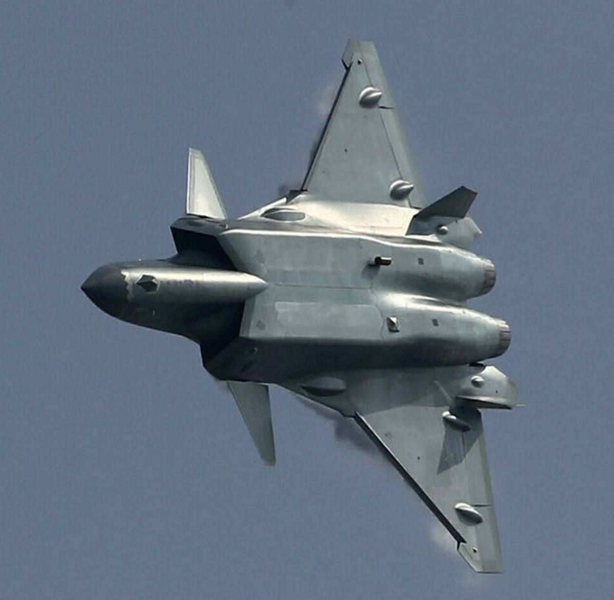 China's New J20 Stealth Fighter Makes Its Public Debut