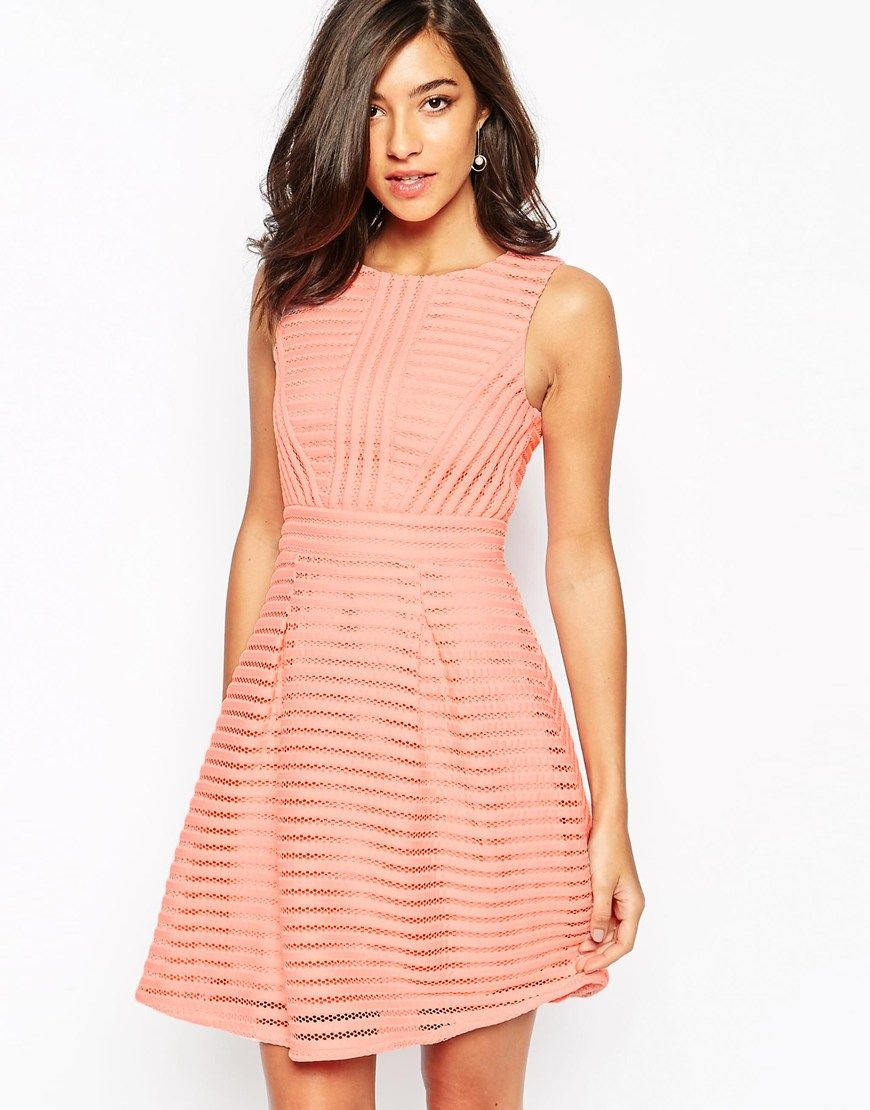 ASOS Warehouse Textured Prom Dress | Bridesmaid's Apparel ...