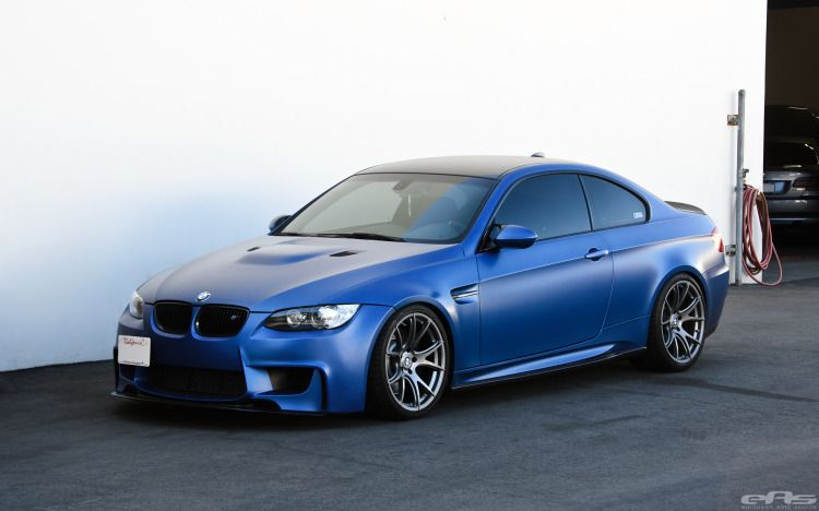 Frozen Blue Bmw E92 M3 In For Some Mods At Eas Autok