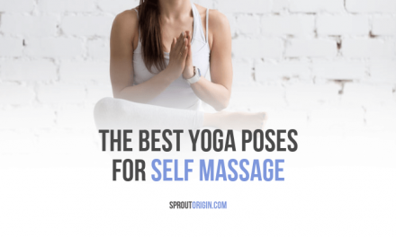 the best yoga poses for self massage  cool yoga poses