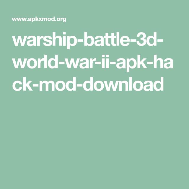 download game warship battle 3d mod apk terbaru