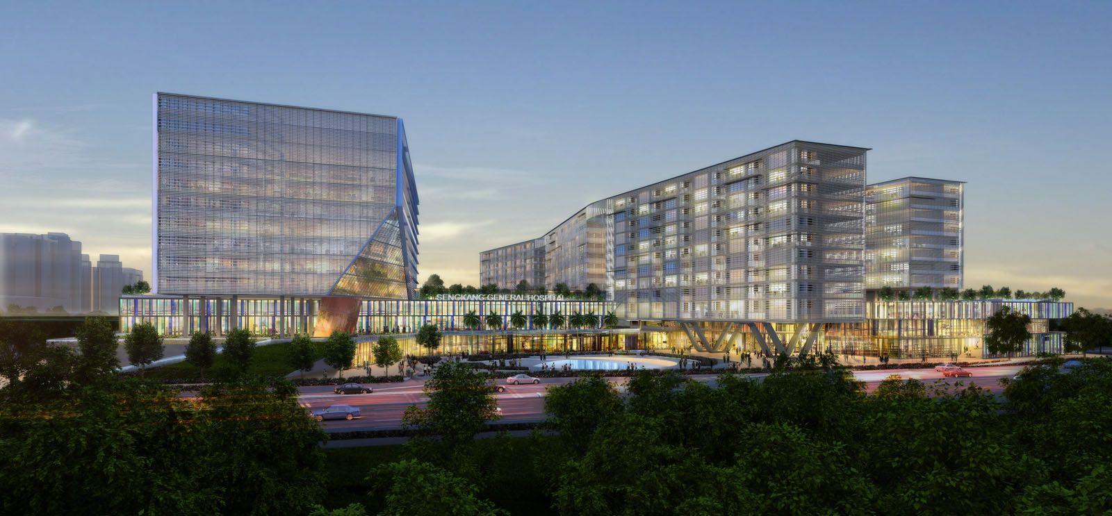 SENG KANG GENERAL HOSPITAL SAA Architects Singapore