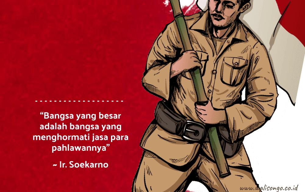 Menakjubkan 30 Gambar Kartun Tentang Hari Pahlawan Poster