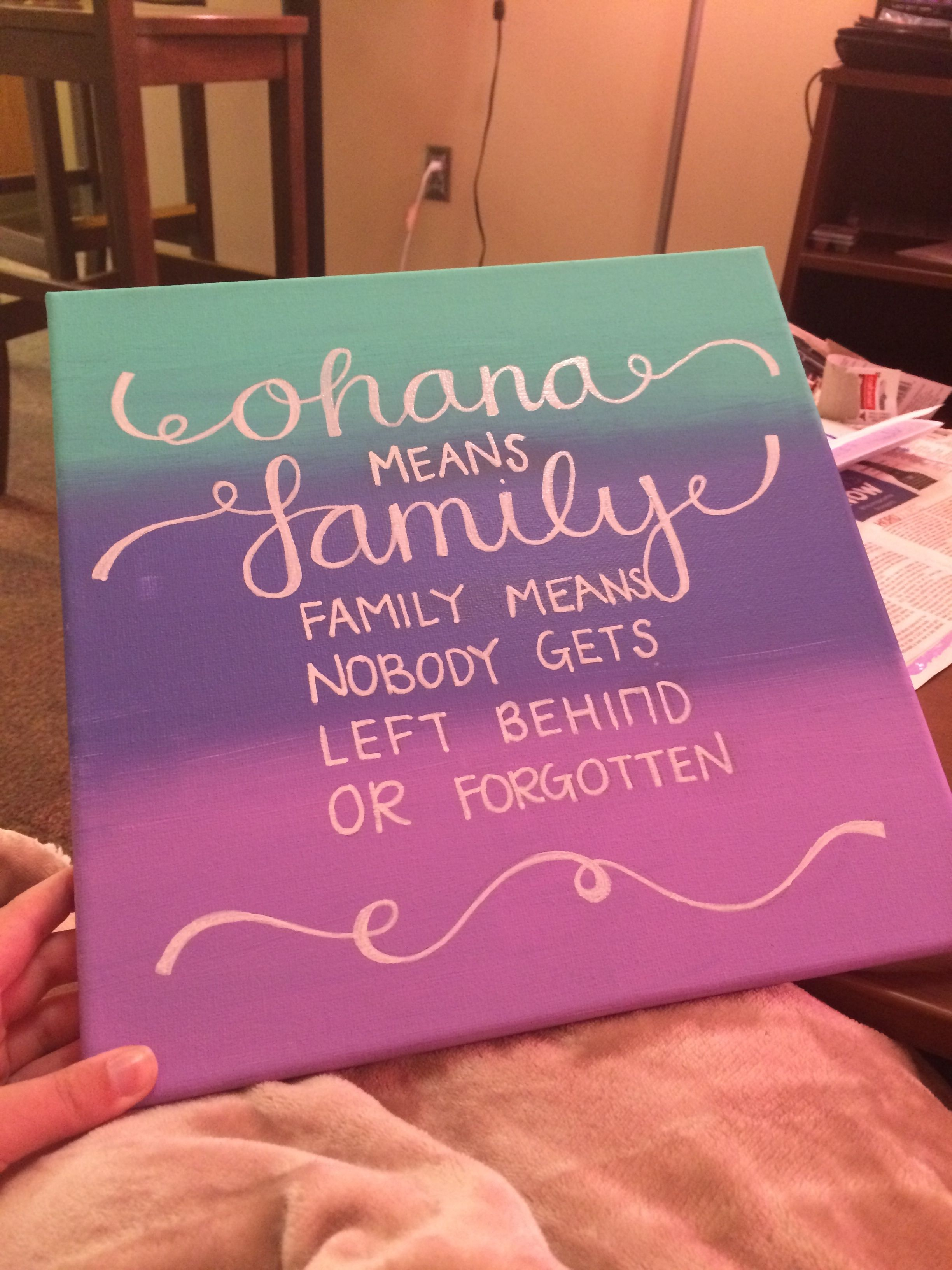 AOII Ohana Canvas. Created by taylorbaglietto. Perfect