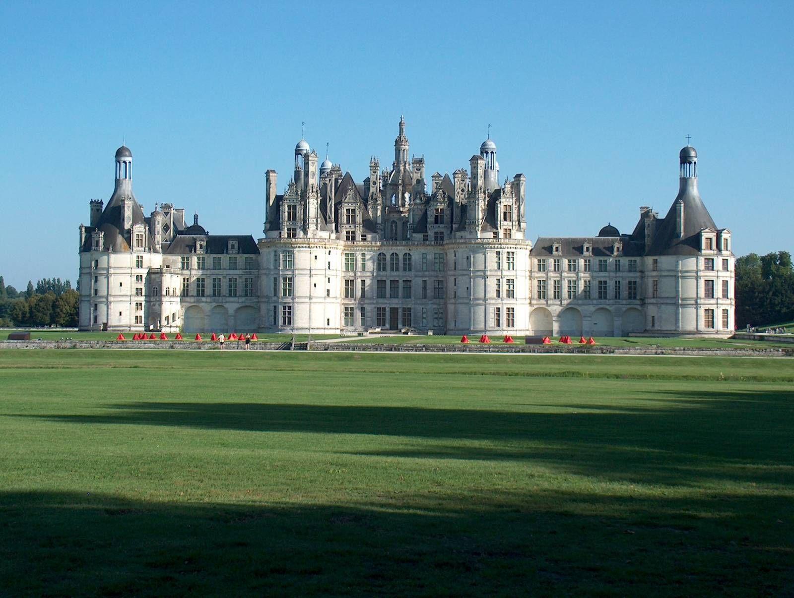 Foto castillo de chambord francia loira pinterest castillos francia y rascacielos - Castillo de chambord ...