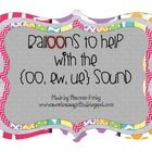 $2 This is a fun way to remember the sounds {oo} in the words; bloom, groom, few, blue....  This pack contains a sound sort, SCOOT your BOOTS-looking ...