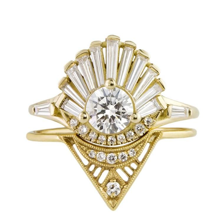 cfac8b78d89e1a Tomfoolery-bridal-stack-6 Stacked Engagement Ring, Unusual Engagement Rings,  Alternative