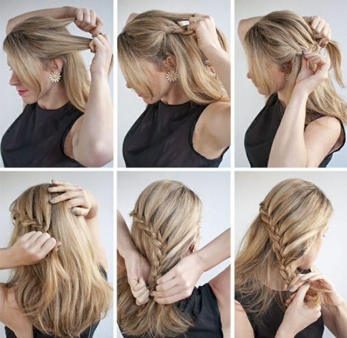 1001 Ideas De Peinados Faciles Y Rapidos Para Hacer En 5 Minutos Peinados Faciles Y Rapidos Peinados Faciles Pelo Corto Peinados