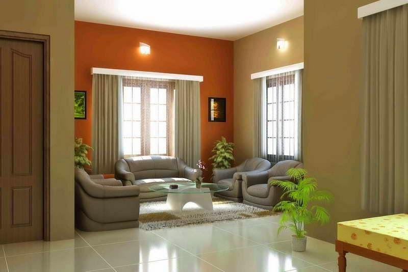 Home Interiors in Beautiful Bi-Color Combinations