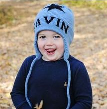 Winter Baby Kleinkind Kinder Earflap Hut Pilot Aviator Cap Warm Weiche Mütze Hut