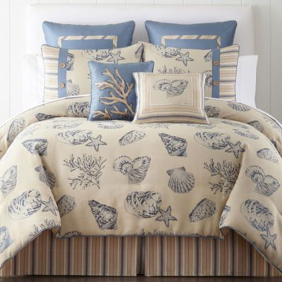 jcp home™ Oceana Quilt & Accessories - JCPenney | Boat Stuff | Pinterest