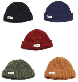 Short Beanie Wh Label Watch 5 Color  hat  womens  7516caa26a2