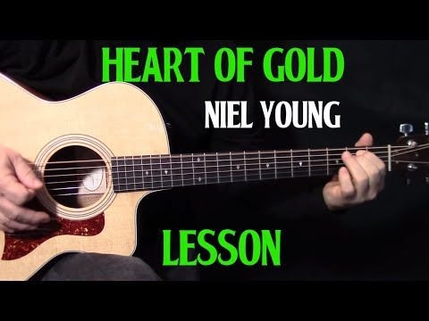 how to play heart of gold on guitar by neil young acoustic guitar lesson youtube guitars. Black Bedroom Furniture Sets. Home Design Ideas