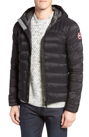 ... canada goose brookvale hooded down jacket. canadagoose cloth
