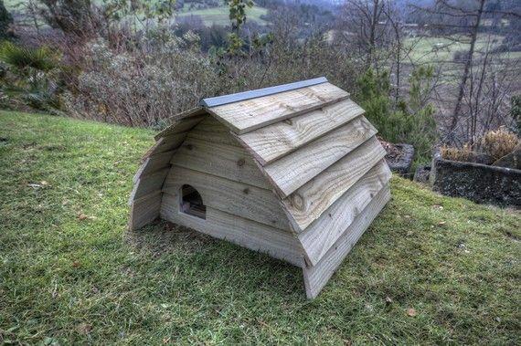 Deluxe Hedgehog House | Hedgehog house, Diy hedgehog house ...