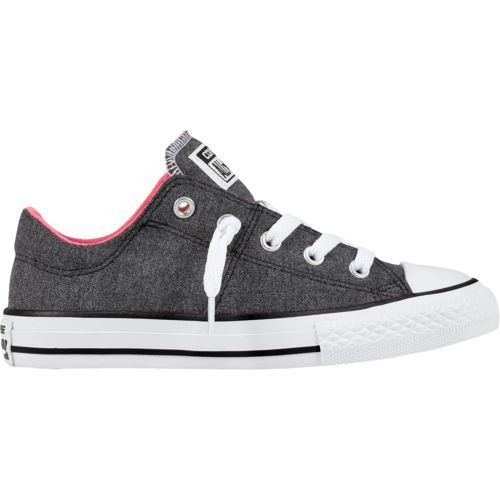 61ec3241e5a Converse Girls  Chuck Taylor All-Star Madison Ox Shoes (Grey Pink ...