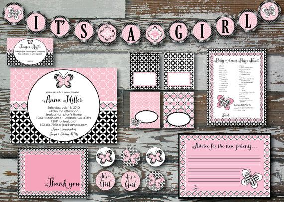Superior Lambs And Ivy Duchess Baby Shower Kit By RusticAvenueDesigns, $30.00