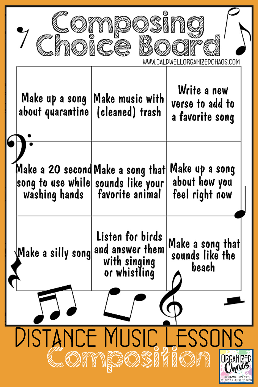 Distance Music Lesson Ideas Composition Music Lessons For Kids Online Music Lessons Elementary Music Lessons