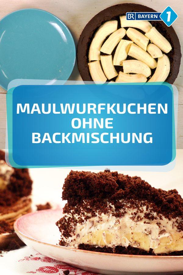 Maulwurfkuchen: Ganz leicht auch ohne Backmischung