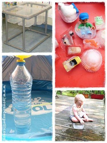 15 id es de jeux d 39 eau pour les enfants activit s. Black Bedroom Furniture Sets. Home Design Ideas