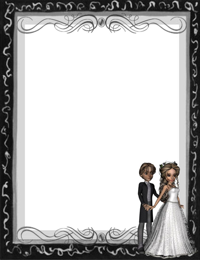 This is an image of Universal Printable Wedding Template