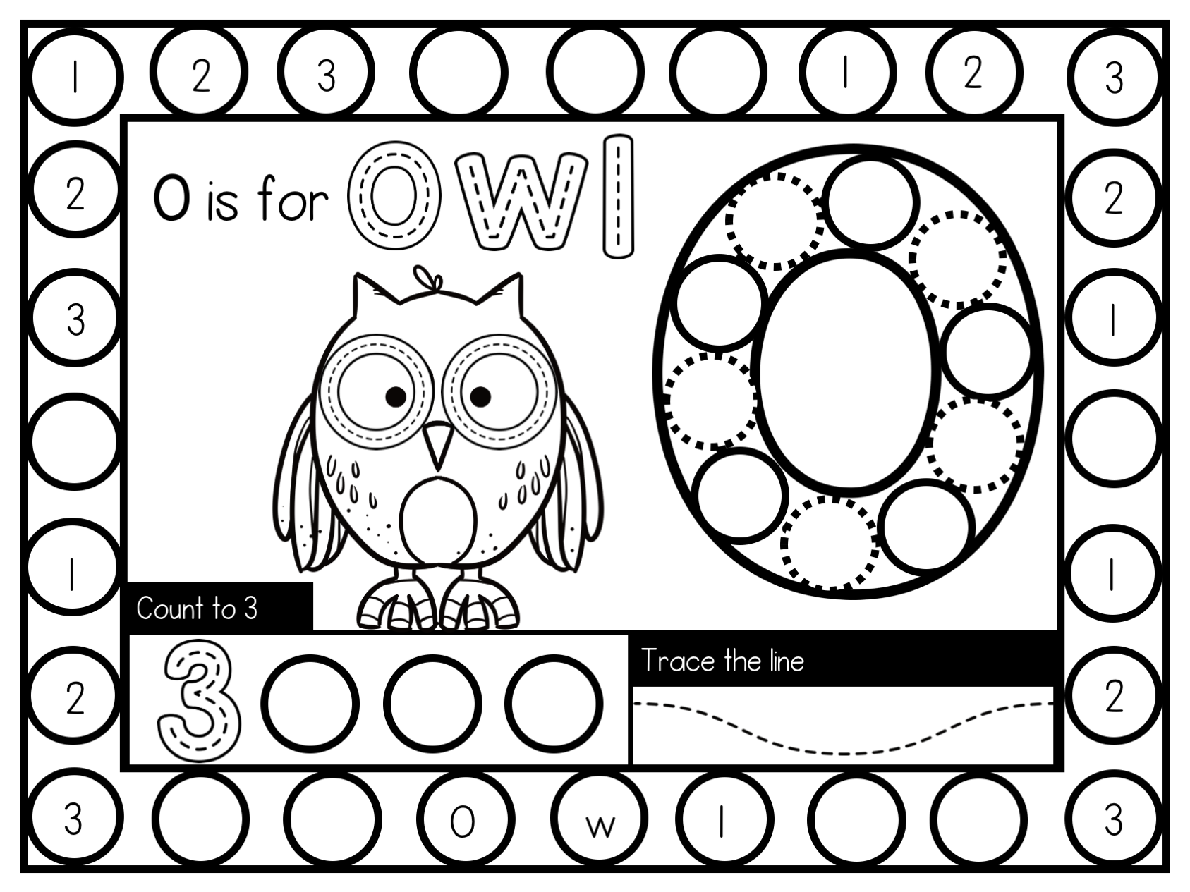 Activity Owl Page In
