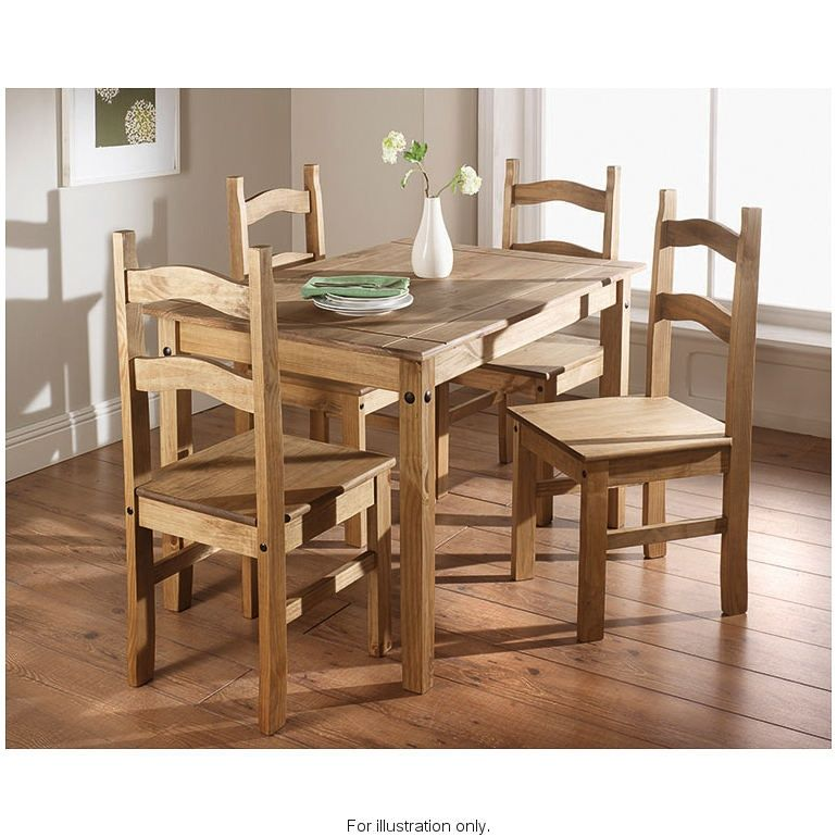 Touch Of Luxury To Your Dining Room With The Rio 5 Piece Set