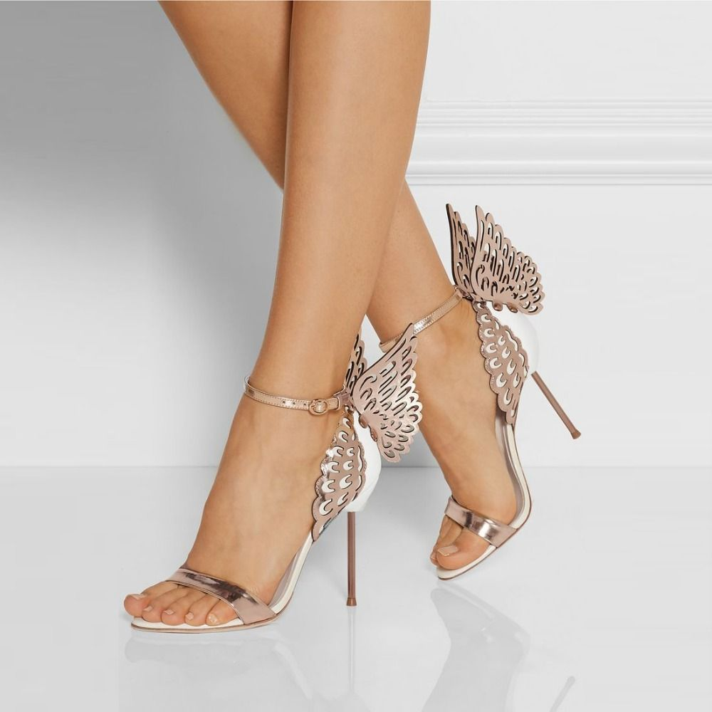 Gorgeous-Winged-High-font-b-Heels-b-font-Women-Shoes-font-b-Rose-b ...