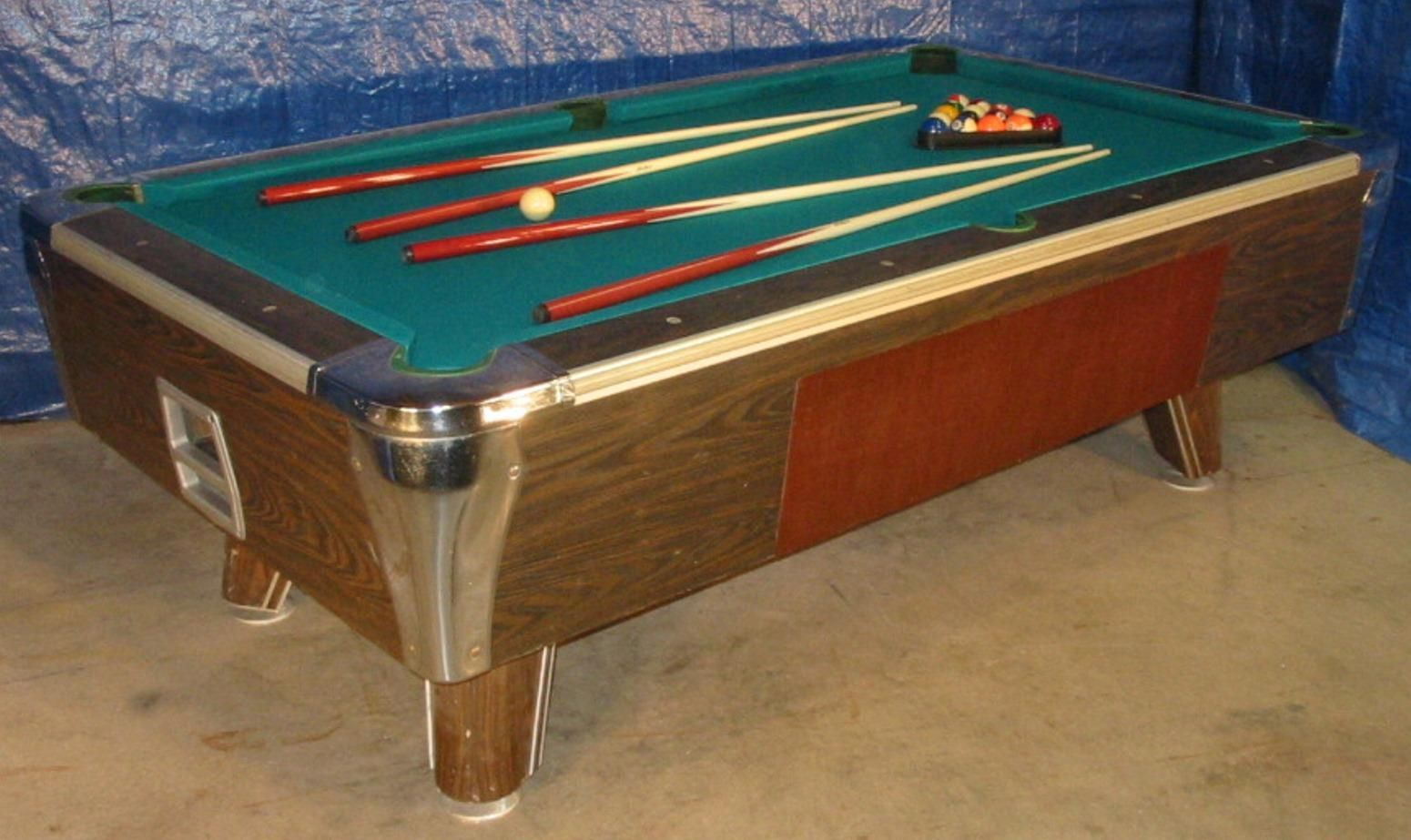 Irving kaye bar size 7 pool table set up for home use vintage irving kaye bar size 7 pool table set up for home use watchthetrailerfo