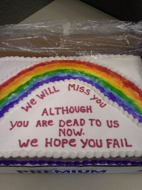 Funny Going Away Cakes : funny, going, cakes, Ellie, Artwork, Going, Cakes,, Funny, Cake,, Farewell