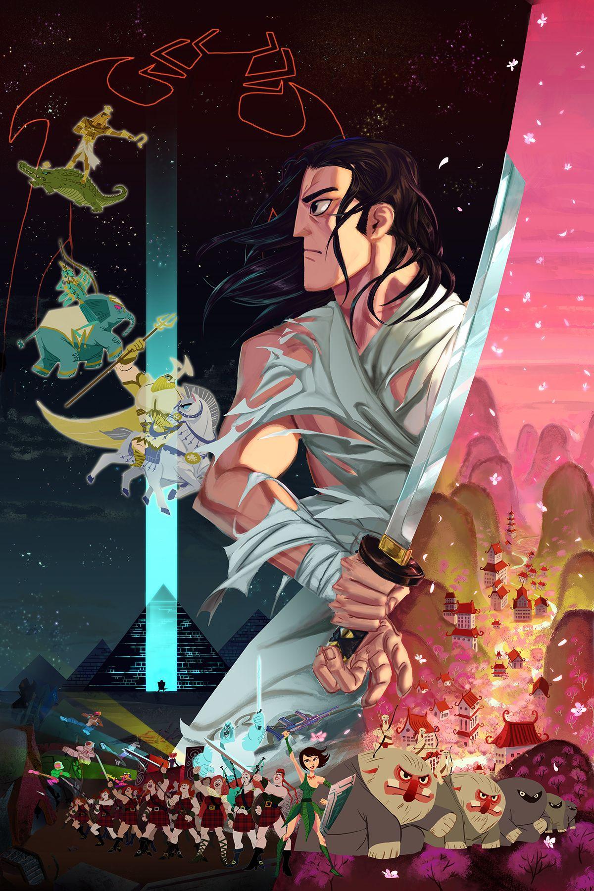 Keep Moving Forward Samurai Jack In 2019 Samurai Jack