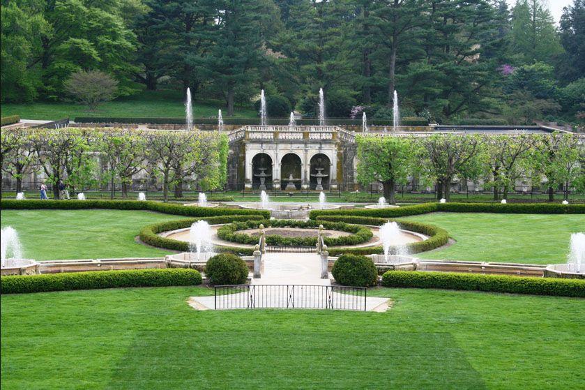longwood gardens and Winterthur, Brandywine Valley near Pennsylvania ...